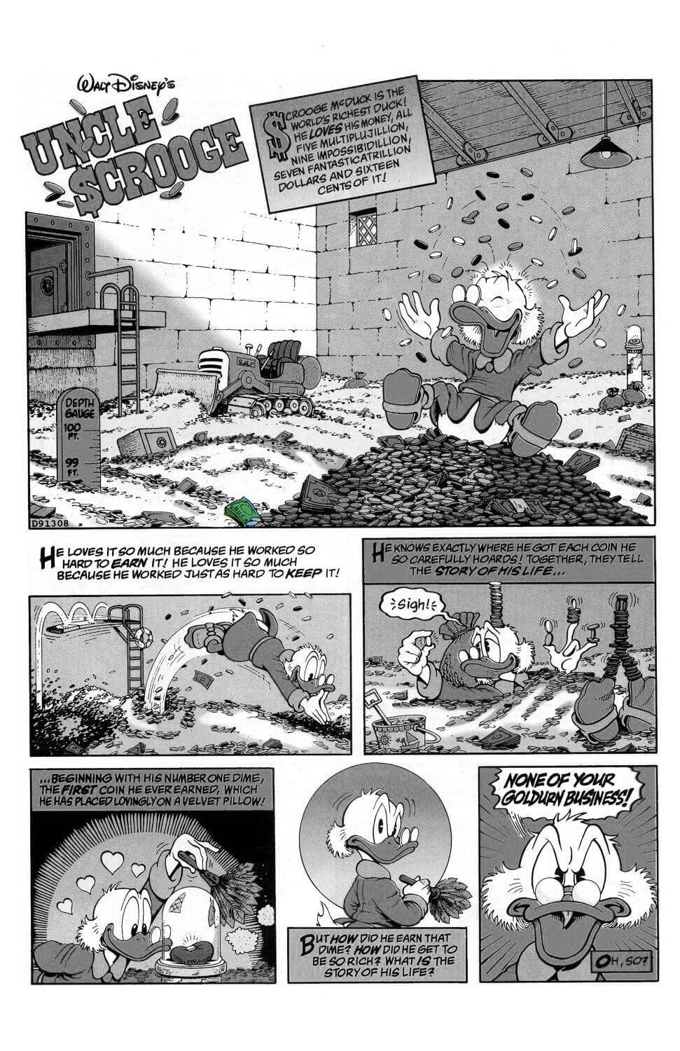 D.U.C.K in Chapter 01 - The Last of the Clan McDuck first page