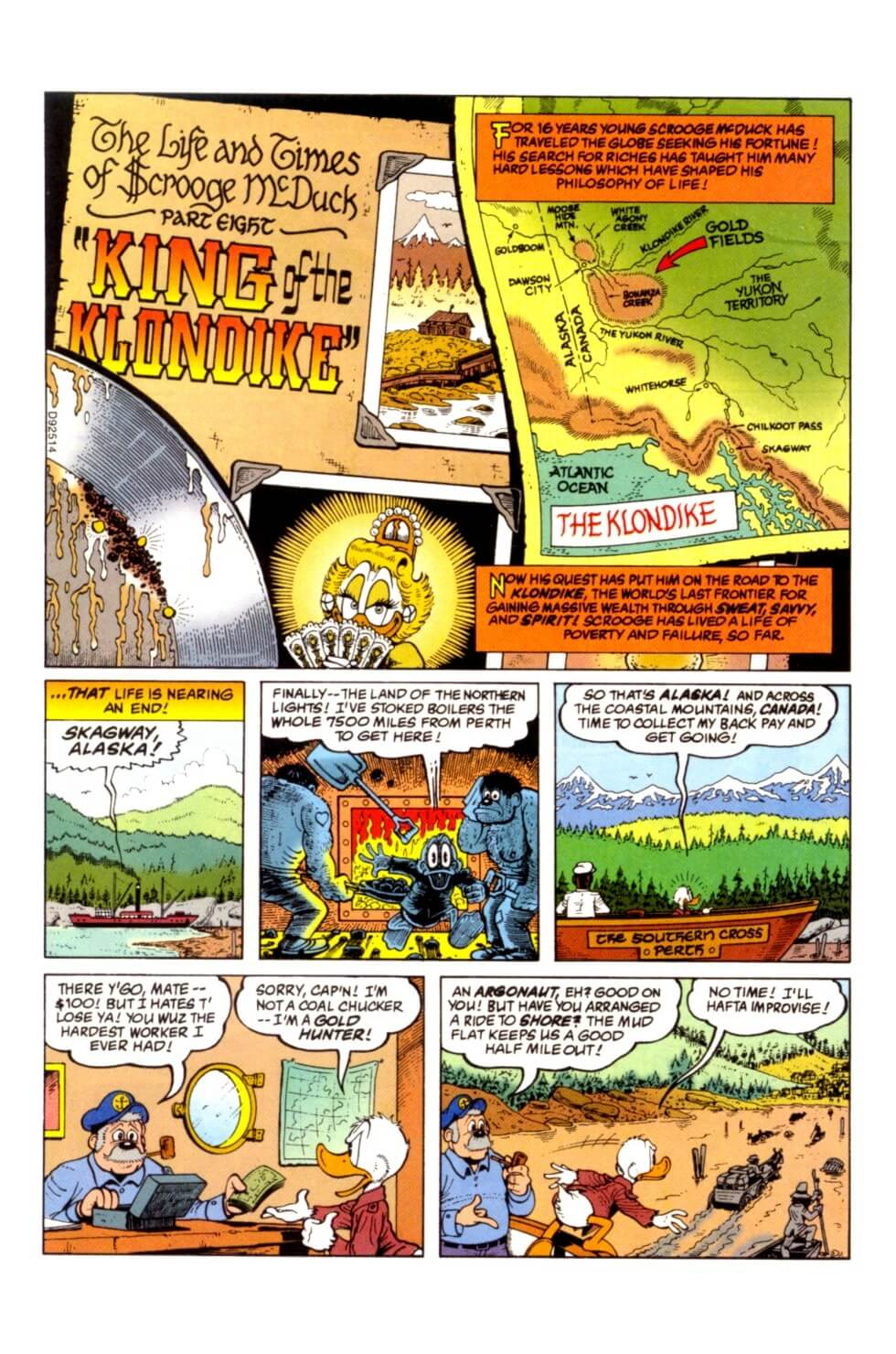 Chapter 08 - King of the Klondike first page