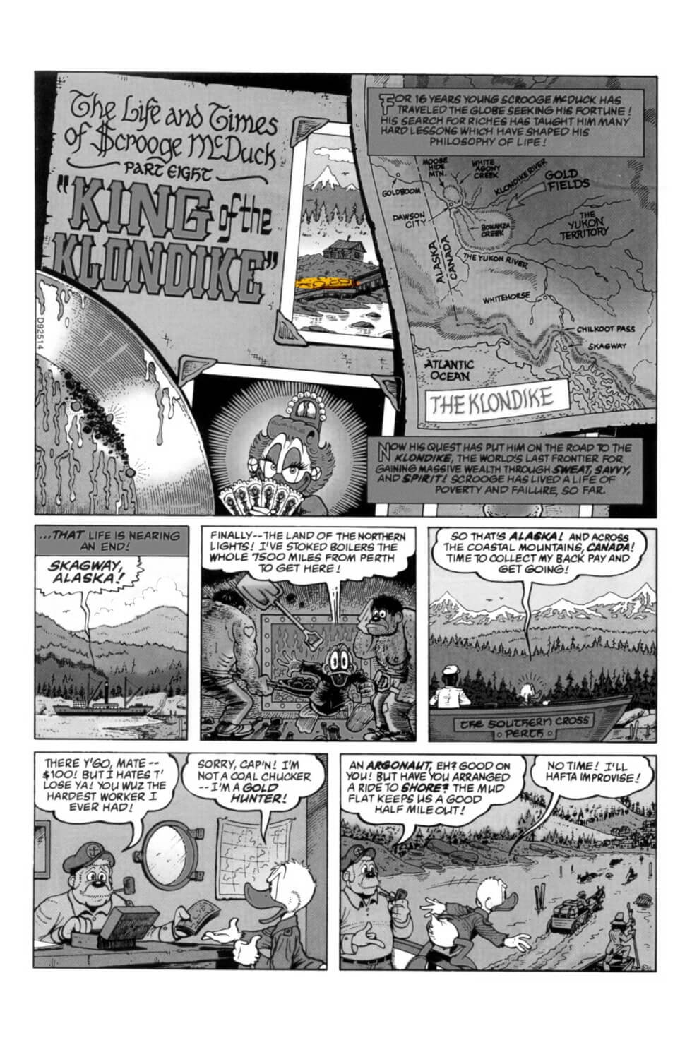 D.U.C.K in Chapter 08 - King of the Klondike first page