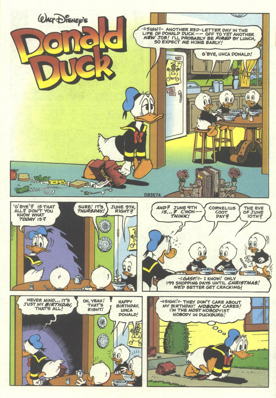 The Duck Who Never Was first page
