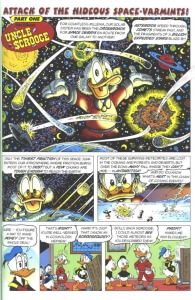 Thumbnail: Attack Of The Hideous Space-Varmints! first page
