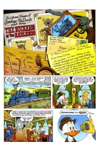 Thumbnail: Chapter 03 - The Buckaroo of the Badlands first page