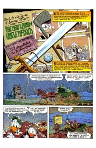Thumbnail: Chapter 05 - The New Laird of Castle McDuck first page