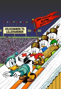 Thumbnail: From Duckburg To Lillehammer cover