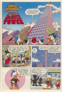 Thumbnail: Incident At McDuck Tower first page